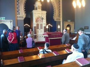 Tour of Jewish Bradford inside the Bowland Street Synagogue