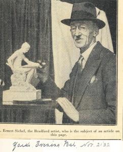 Bradford born German Jewish artist Ernest Leopold Sichel 1862-1941