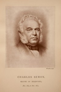 Charles Semon 1814-1877 Mayor of Bradford 1863-64