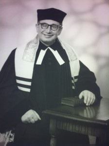 Rabbi Dr Erich Bienheim, Minister from 1949-1961