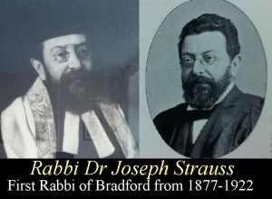 Rabbi Dr Joseph  Strauss 1877-1922