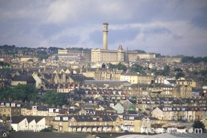 View of Bradford around Manningham's Lister's Mill
