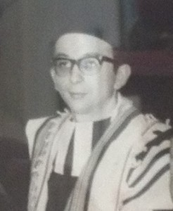 Rabbi David Freeman, Minister of Bradford Synagogue 1965-1967