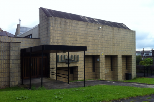 The former Springhurst Road Synagogue, Shipley.