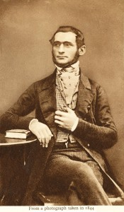Jacob Behrens 1806-1889, as a young man in 1844.