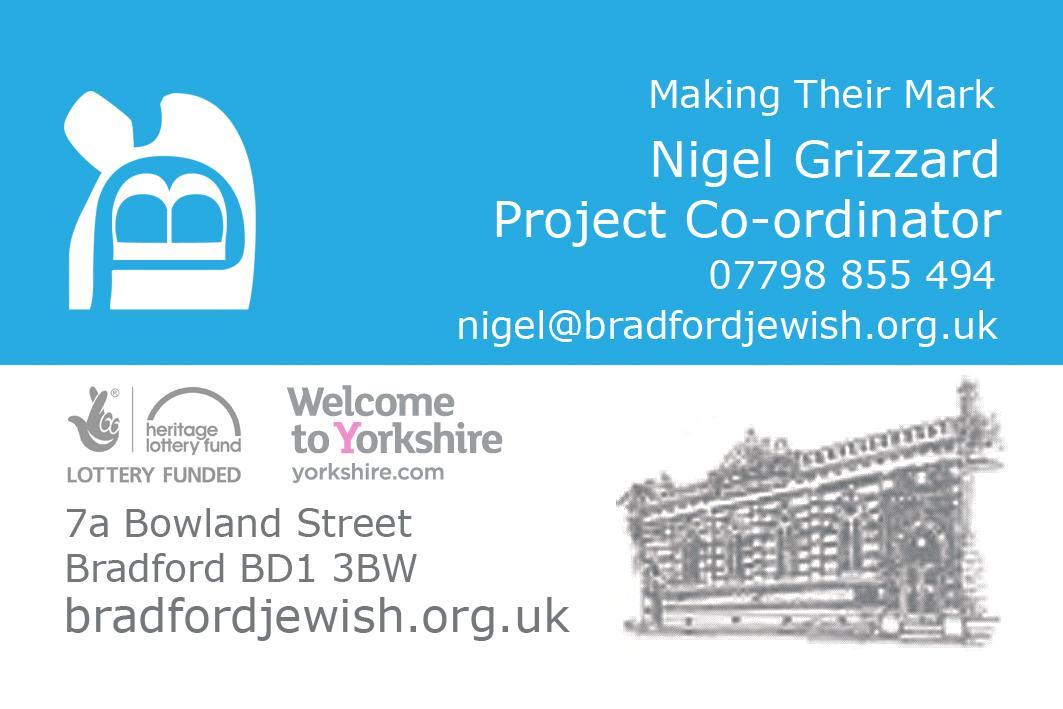 Bradford jewry making their mark bradford jewish bradford jewry solutioingenieria Gallery