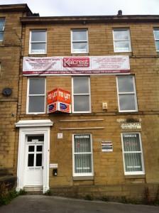 Jacob Unna's former house, 2 Eldon Place, Manningham Lane, Bradford