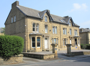 The former Bradford Jewish Social Club, now Bradford Bridge Club, Mornington Villas.