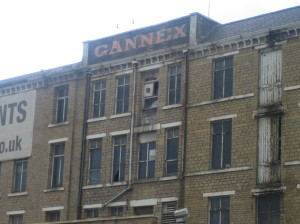 Lord Joseph Kagan's Gannex  at Elland, now demolished.