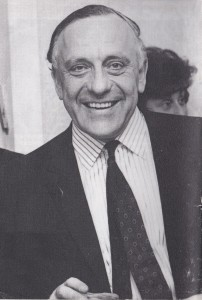 Helmut Mainz of A Mainz & Son Ltd, who helped  Albert Waxman expand his Fibres business to Elland in 1966
