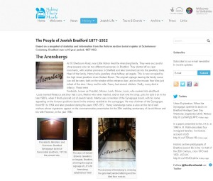 Jewish bradford 1877-1922