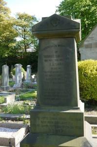Tombstone of Serine Unna nee Salomon, Scholemoor Cemetery, Bradford.