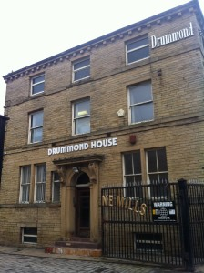 Main entrance, Drummonds Mill, Lumb Lane Bradford