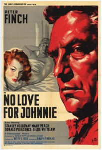 No Love For Johnnie film poster