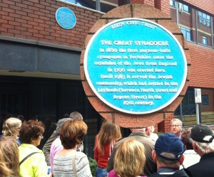 The site of the Great Synagogue, Leylands in Leeds