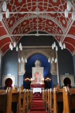 Interior of Bowland Street Synagogue