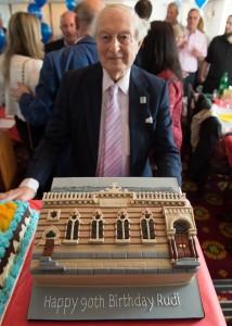 Rudi 90th Bradford Synagogue Cake