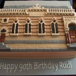 Rudi 90th Cake Synagogue Model